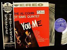 Zoot Sims Al Cohn Mercury 1001 You 'N' Me JAPANESE ISSUE