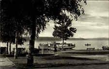 Altenhof Brandenburg 1961 DDR Werbellinsee See Promenade Schiff Gewässer Boote