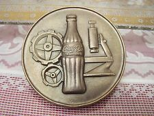 COCACOLA EXECUTIVE LINE SOLID BRONZE MEDAL / PAPERWEIGHT