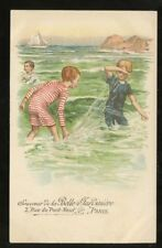 France PARIS Advert Belle Jardiniere Children u/b PPC