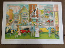 ANN ARBOR MICHIGAN LISTED ARTIST EMIL WEDDIGE CHAMPIONS ERA AUTO RACING RALLY