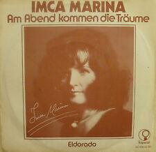 """7"""" 1974 ! IMCA MARINA Am Abend kommen die Träume / NL"""