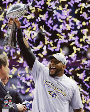 2013 Super Bowl XLVII Baltimore Ravens RAY LEWIS Glossy 8x10 Photo Print Poster