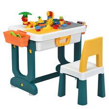 5 in 1 Kinder Spieltisch Aktivitätstisch Kinderschreibtisch Kindersitzgruppe