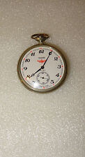 MONTRE GOUSSET MESSIDOR LOCOMOTIVE SUR VERSO  MADE IN USSR SOVIET -18 JEWELS