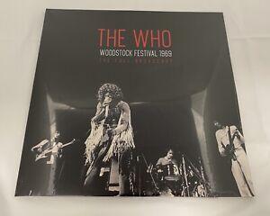 Who Woodstock Festival 1969 Double Vinyl Album Record LP