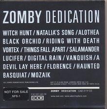 Dedication [Digipak] by Zomby (CD 2011, 4AD (USA))  PROMO!   FREE SHIPPING