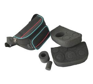 "Telescope 2"" 1.25"" Inch Eyepiece Holder Carrier Bag Sponge Inside Portable Case"