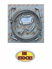 Gotta Show Braided A/C Hose Kit for R134a Systems SS 90 Degree - GS343100