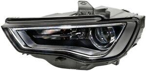 HELLA Headlight Passenger Side 1LL 010 740-331 fits Audi A3 1.2 TFSI (8V1) 77...