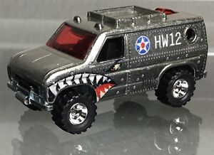 MINT LOOSE 2012 Hot Wheels Pop Culture Nose Art ZAMAC Baja Breaker Van