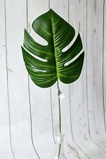 "Artificial Deliciosa Leaf 23"" displays flowers foliage"