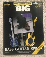Mr. Big - SELF TITLED S/T BASS GUITAR SERIES Excellent Condition Tablature Tab