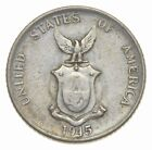 SILVER American minted WWII Foreign coin rare ..