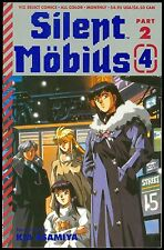 Silent Mobius Part 2 #4 Kia Asamiya Viz Select Comics Graphic Novel 1992