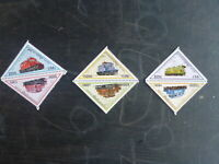 CAMBODIA 1998 RAILWAY LOCOMOTIVES SET 6 MINT STAMPS MUH
