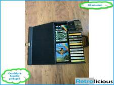 Sinclair ZX Spectrum bundle of 14 game and software tapes with case - Safe post