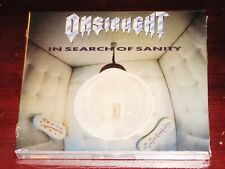 Onslaught: In Search Of Sanity + Live 1989 2 CD Set 2017 Dissonance Digipak NEW