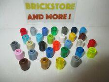Lego - Brick Brique Round 1x1 3062 - Choose Color & Quantity x2 - x40