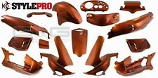 FAIRING KIT 15 Fairing Parts Orange Metallic GILERA RUNNER