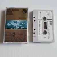 JOHN LENNON MIND GAMES CASSETTE TAPE 1973 WHITE PAPER LABEL EMI UK