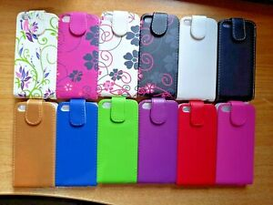 Vertical PU leather, flip style phone case, cover to fit iphone 5 5s, 1st Gen SE