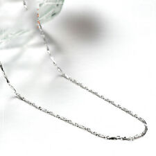 Authentic Pure Platinum 950 Necklace Bling Ingot Link Chain 17.7 inch
