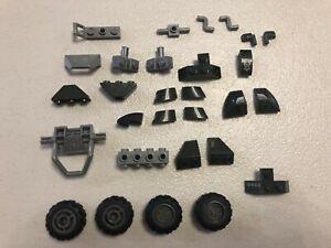 Mega Bloks HALO MOC Loose Mixed Parts Pieces tire Building Blocks Bricks DIY TOY