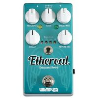 Wampler Ethereal Reverb Dual-Delay Guitar Effects Pedal True Bypass Stompbox