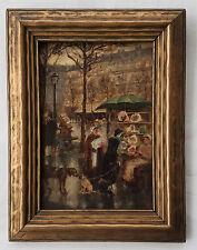"After James Abbott McNeill Whistler O/B ""The Market Place""  Circa 1880"