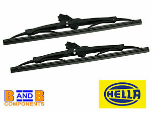 "VW T1 BEETLE BUG HELLA 11"" WINDSCREEN WIPER BLADES x 2 NOT 1303 A711"