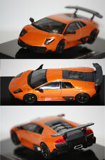 Hotwheels Elite Lamborghini Murcielago LP 670-4 SV 2006 Orange 1/43 T6935
