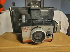 Vintage Polaroid Land Camera Super Shooter Plus with Timer Instructions on back