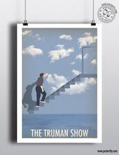 THE TRUMAN SHOW - Minimalist Film Poster Posteritty Minimal Print Art Jim Carrey