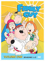 Family Guy Volume 1: Seasons 1 & 2 DVD 4 disc set NEW SEALED