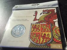 More details for £5 coin. the red dragon of wales. original royal mint packaging. queens beasts.