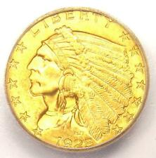 1925-D Indian Gold Quarter Eagle $2.50 Coin - Certified ICG MS65 - $1,560 Value!