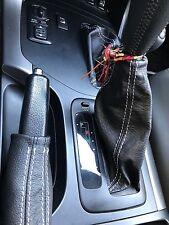 Toyota Land Cruiser serie 120-125 KDJ  cuffia cambio + freno + riduttore in pell