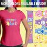 We Care Bears Grumpy Funshine Cheer Share Bear Girls Juniors Women Tee T-Shirt