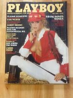 Playboy-July 1983-007's Co-Stars- Ruth Guerri Centerfold