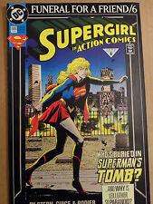 DC COMIC SUPERMAN FUNERAL FOR A FRIEND/6 # 686 BIN 23