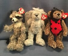 NWT Lot of 3 Ty Beanie Babies Attic Collection Jointed Bugsy Sterling Radcliffe