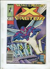 X-Factor #24 ~ First ArchAngel The Fall Of The Mutants! ~ (Grade 7.0)WH