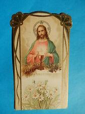 IMAGE PIEUSE SANTINO  COEUR DE JESUS EUCHARISTIQUE 1912  THFR