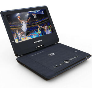 "Sylvania 10"" Portable Blu-ray Player with Swivel Screen - Black - SDVD1079"