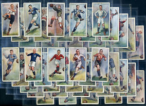 PLAYER'S - Cigarette Card Set - FOOTBALLERS 1928 - Association & Rugby players