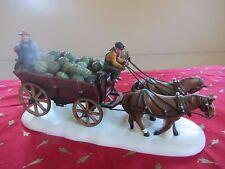 Dept 56 HORSE DRAWN SQUASH CART  Bachman's  Heritage Village NIB  #7536 (616SH)