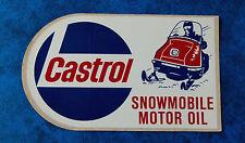 CASTROL  ..  Original Vintage  1960-70,s  Oil Gas advertising sticker