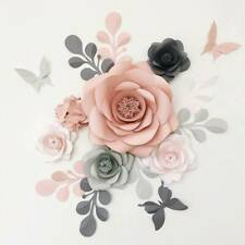 Pa-Ula Paper Flower Wall Art, Nursery decoration