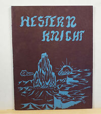 1958 Wakefield Junior High School Yearbook - Western Knight - Tucson Arizona AZ